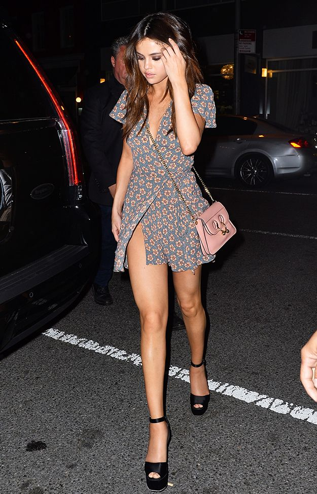 Get the Look: Selena Gomez's Floral Dress