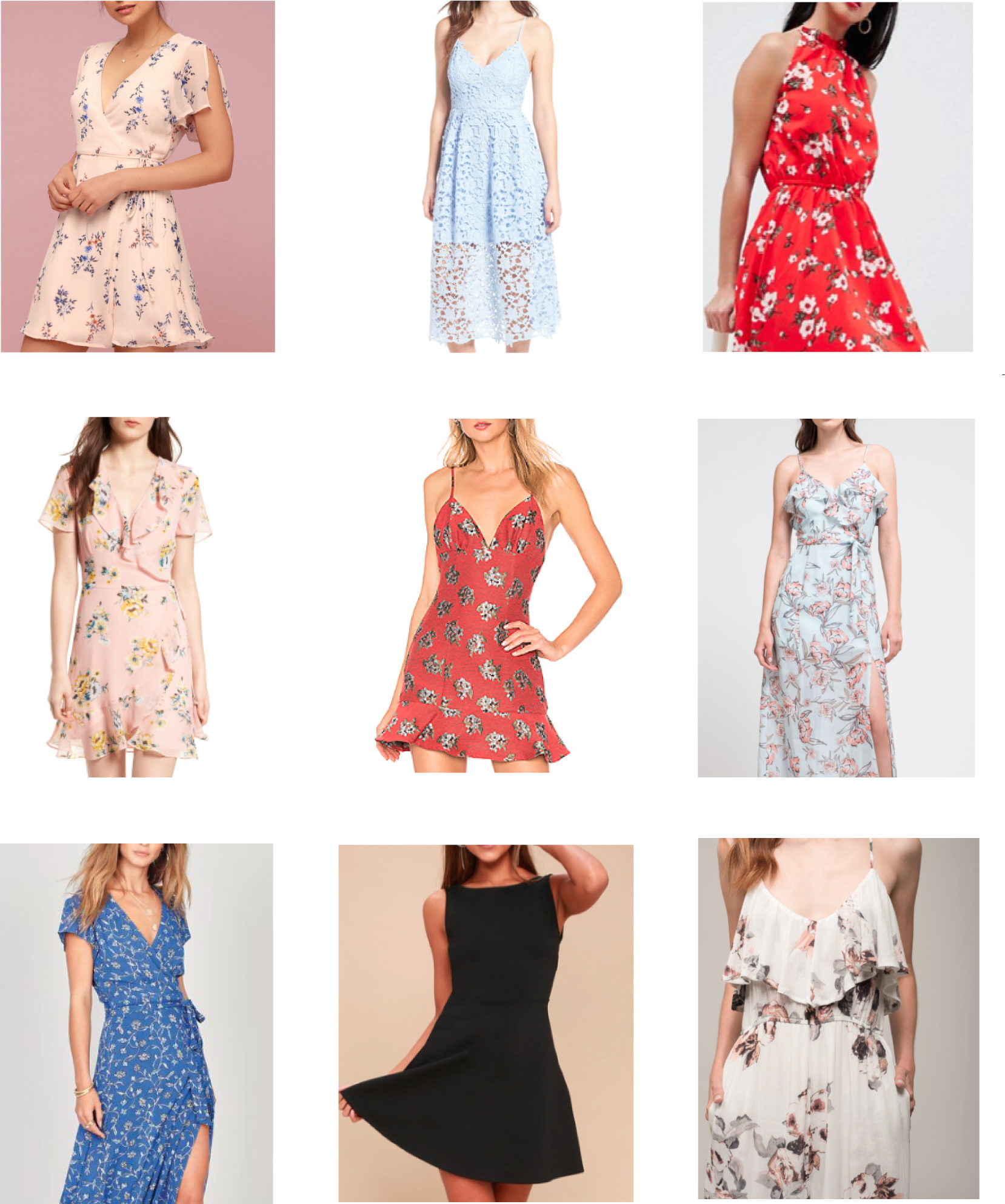 9 Affordable Dresses for a Summer Wedding